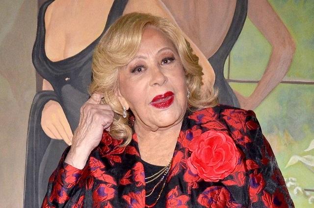 Silvia Pinal incómoda con la serie de Alejandra Guzmán