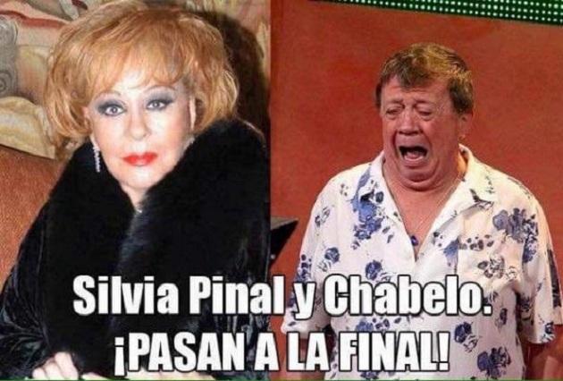 Matan en Twitter a Silvia Pinal: Crean memes de ella y Chabelo