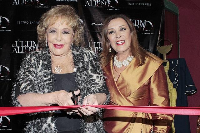 Sylvia Pasquel responde a críticas por celebrar cumpleaños de Silvia Pinal