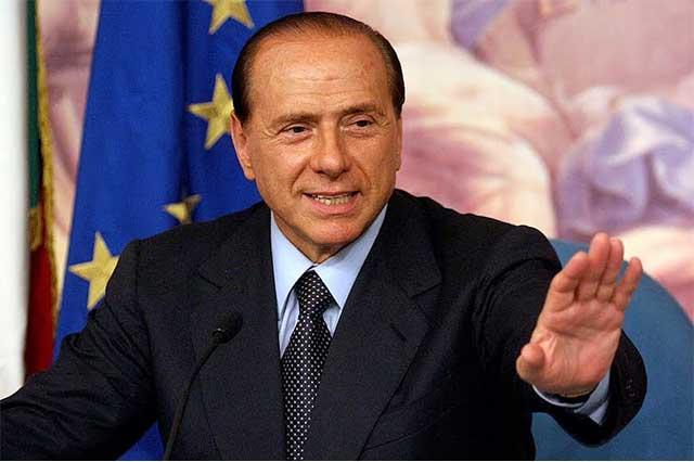 Lo que más me gusta de Trump es su esposa Melania, dice Silvio Berlusconi
