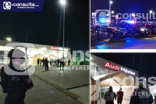 Clausuran Audi por deuda de 90 mdp con San José Chiapa