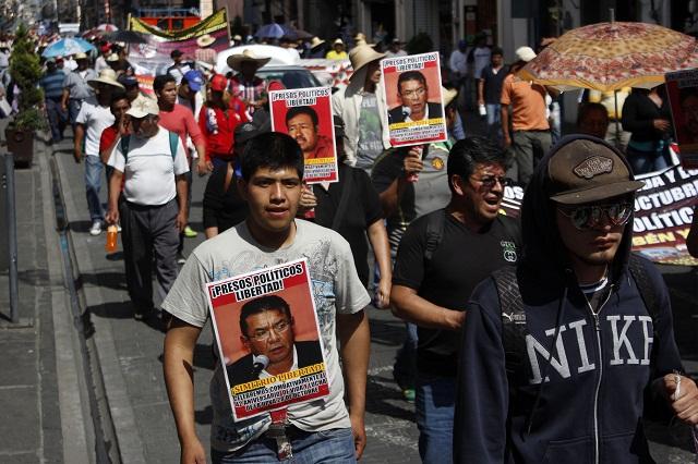 Marchas de la 28 por libertad de presos y mesas de diálogo