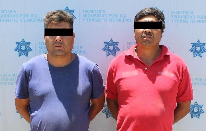 Llevaban escombro en camiones para arrojar al Atoyac y fueron detenidos