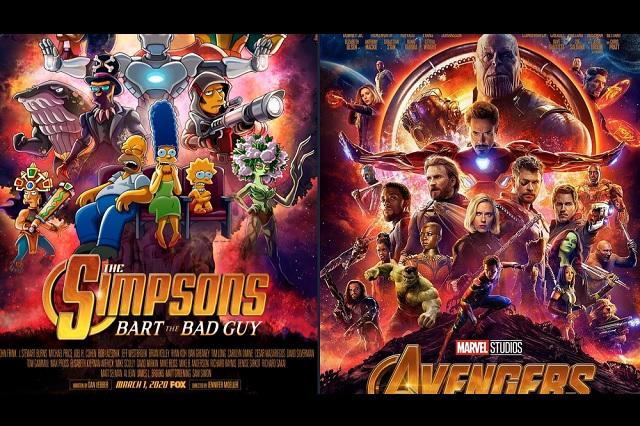 Los Simpson presentan capítulo estilo Avengers: Infinity War