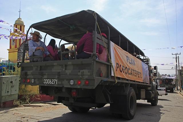 Rutas de evacuación del volcán serán rehabilitadas: Barbosa