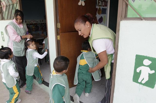 Se amparan Estancias Infantiles de 15 municipios de Puebla