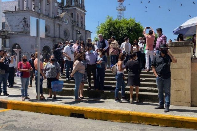 Con éxito realizan el simulacro nacional 2021 en Teziutlán
