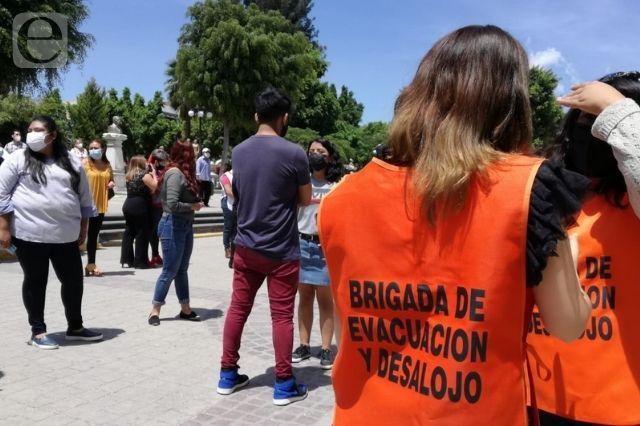 Dos días después, Tehuacán participa en macrosimulacro