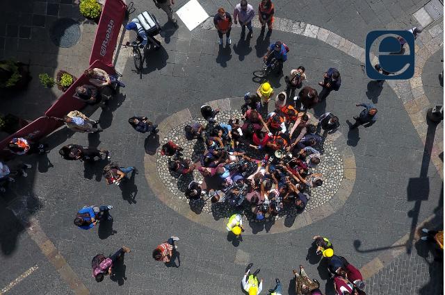 Así vivió Puebla el #macrosimulacro de sismo