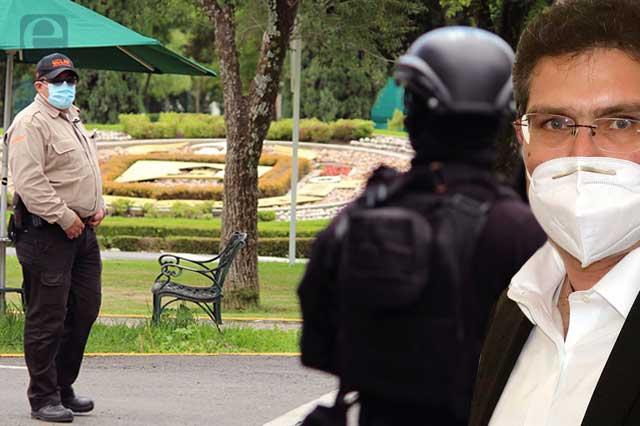 Niega Ríos Piter que en la UDLAP haya fuerzas armadas