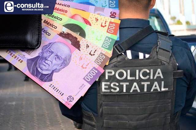 Incumplen con aumento a policías de Puebla, exhiben diputados