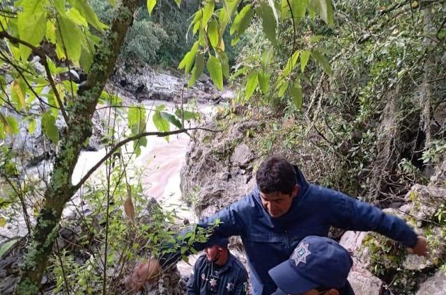 Operativo en Chignahuapan para localizar a joven