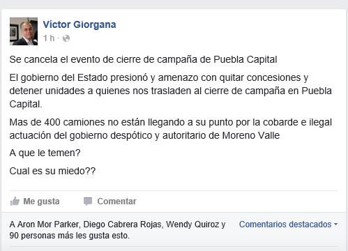 Acusa PRI amenazas del gobierno para frenar evento de Alcalá