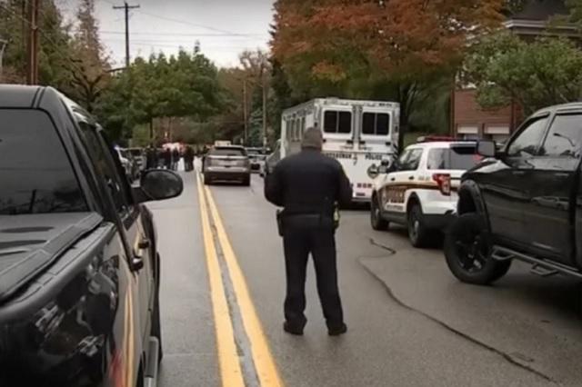 Tiroteo en sinagoga de Pittsburgh deja un saldo preliminar de 8 muertos