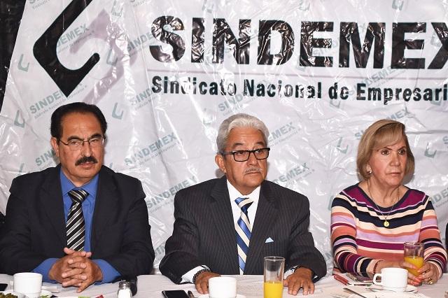 Inversiones en Puebla dependen de FGE y SSP: Sindemex