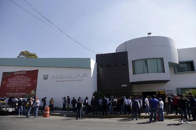 Insisten para que sindicato municipal transparente información en Puebla