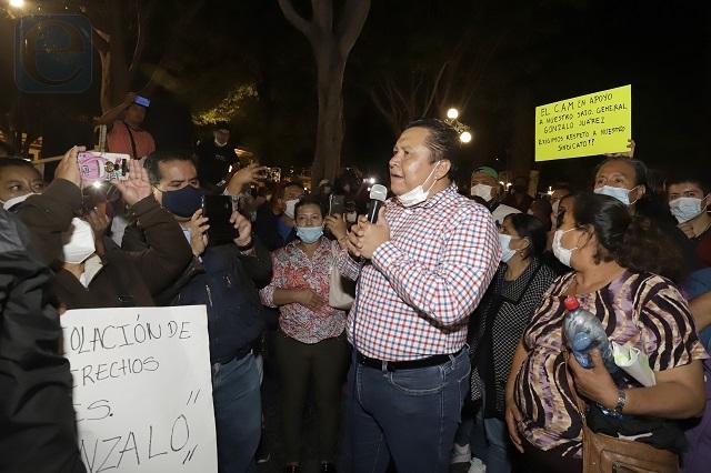 Confía sindicato en que Rivera Pérez cancelará las 100 bases