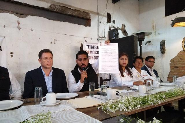 Sindicato anuncia huelga en San Andrés Cholula