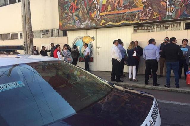 Roban dinero y documentos del sindicato del IMSS en Puebla