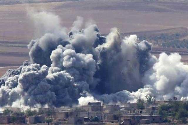 Siria denuncia que ataque de EU a almacén de ISIS liberó gases tóxicos