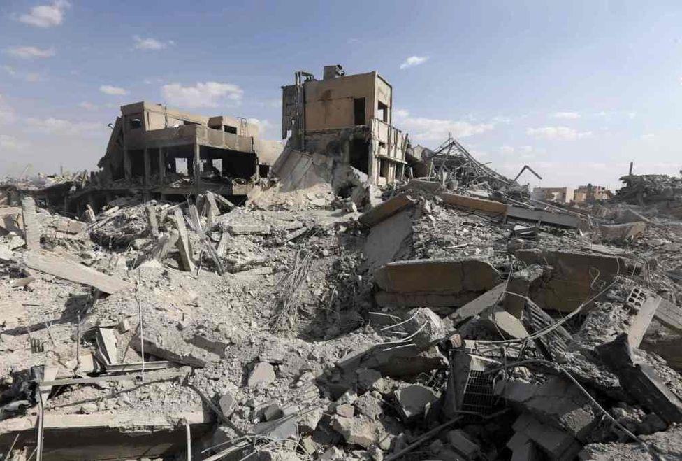 Difunden imágenes de las zonas de Siria que ordenó atacar Donald Trump