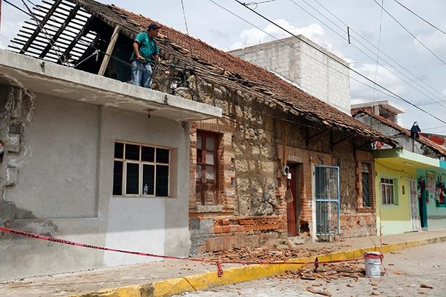 Reconstrucción de viviendas en Puebla es de 20% confirma Sedatu