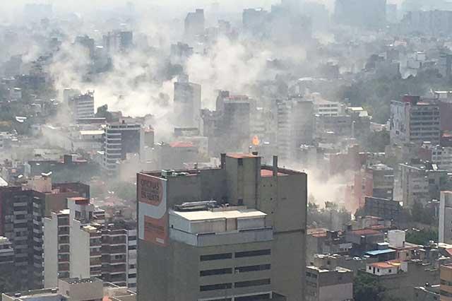Aumenta a 343 la cifra de personas muertas por el sismo del 19 de septiembre