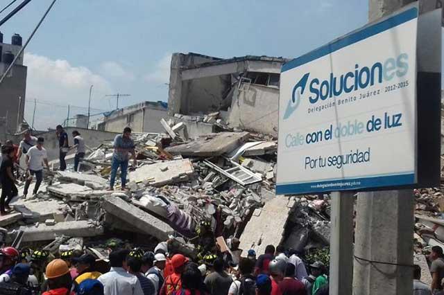 Terremoto de 7.1 grados deja un saldo de 217 personas muertas en el país