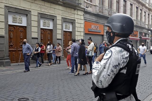 Sin daños, comercios e industria de Puebla: IP