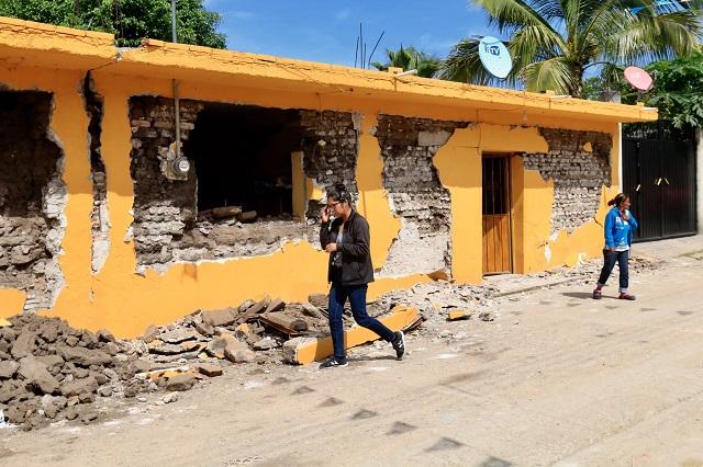 En reconstrucción, 75% de casas  dañadas por el sismo en Puebla: Sedatu