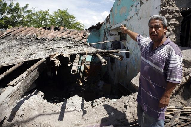 En alta pobreza los municipios golpeados por sismo en Puebla