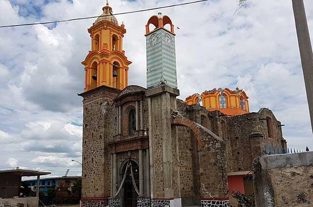 No se derrumbará ninguna iglesia en Puebla por sismo: SC