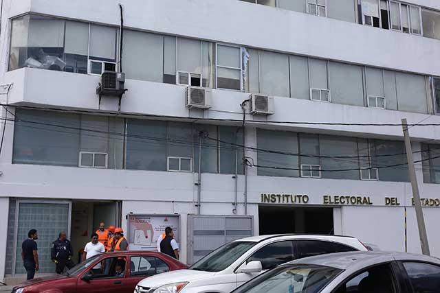 Tras sismo, valora el Instituto Electoral una sede alterna