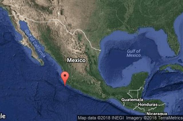 Se registra sismo de 6.0 con epicentro en Cihuatlán, Jalisco