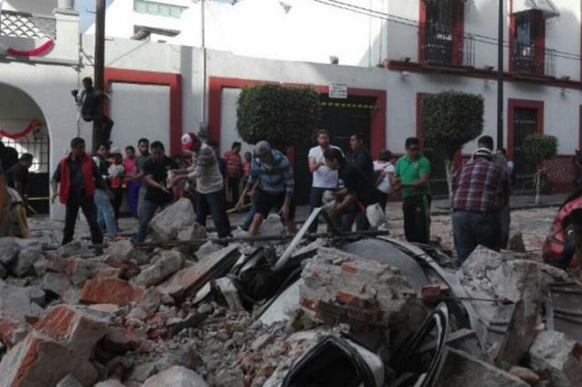 Más de 28 mil viviendas dañó el sismo en Puebla, informa Sedatu
