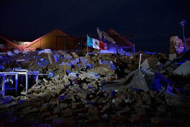 Reporta el Sismológico mil 67 réplicas del terremoto de 8.2