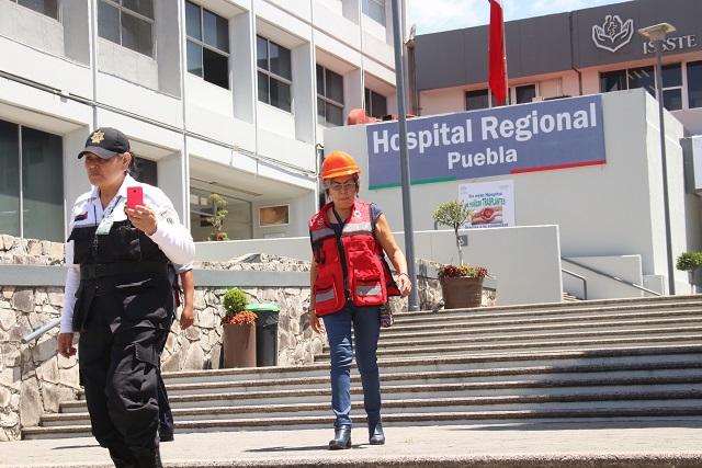 ISSSTE Puebla tendrá servicio de urgencias este 18 de Noviembre