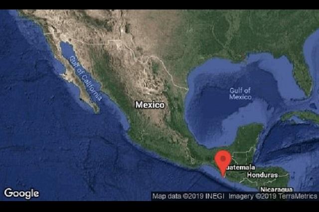 Sismo de 6.6 sacude Chiapas y se siente en Puebla pero sin daños