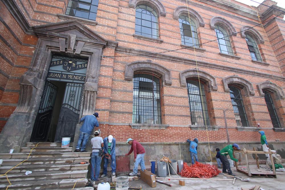 Puebla, con el menor avance en reparación de escuelas: SEP