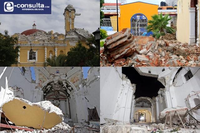 Dejan en el olvido a 55 monumentos históricos dañados tras el 19s