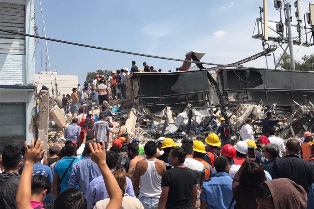 Sismo de 7.1 en México deja un saldo preliminar de 62 personas muertas