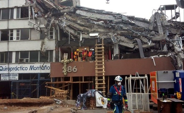 Asciende a 360 los muertos por temblor del 19-S en México