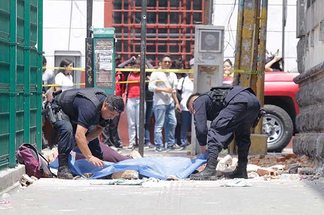 Suman 44 muertos en Morelos y Edomex tras sismo