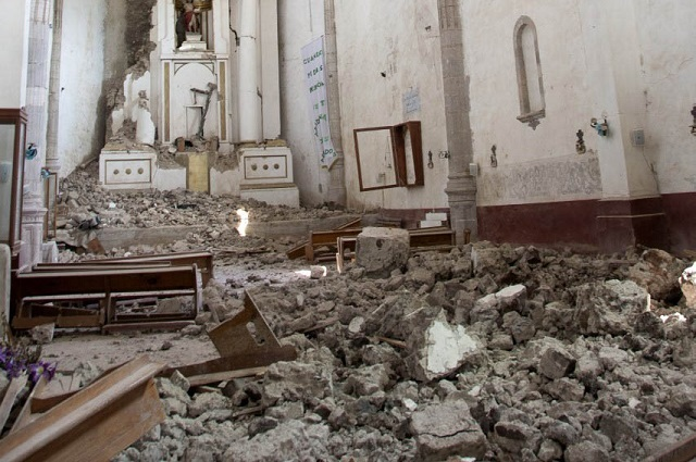 Universitarios rescatarán murales dañados por los sismos