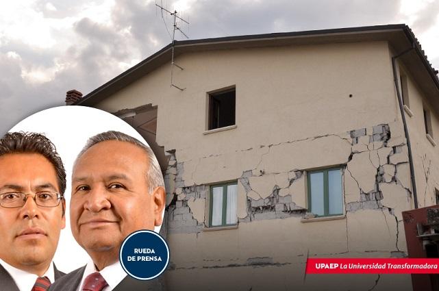 Ingenieros Upaep rememoran el sismo de 1999 en Puebla