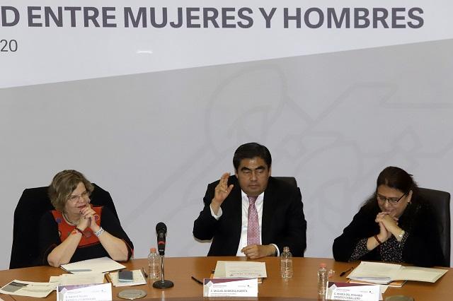 Mientras haya machismo, habrá feminicidios, dice Barbosa