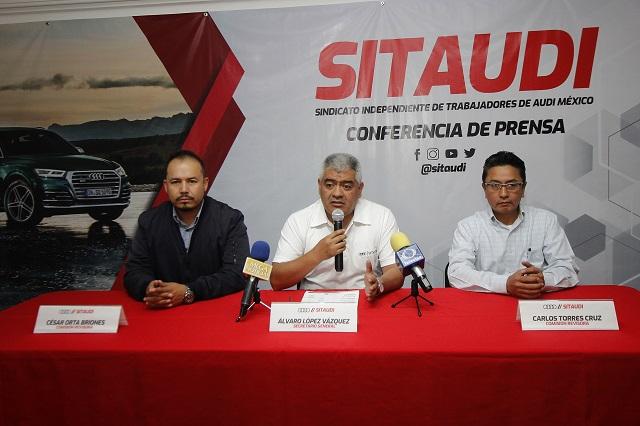 A la baja, asaltos a obreros de Audi, reconoce sindicato