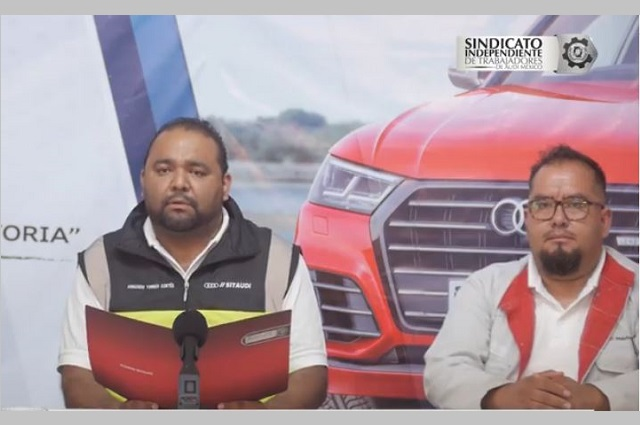 Ven elección sindical de Audi entre Álvaro López y César Orta