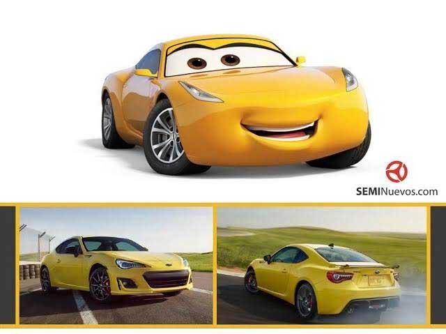 Cars 3 Autos Reales De Mcqueen Doc Hudson Sally Guido