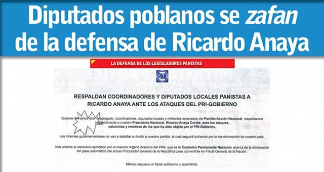 PRI quiere control de Fiscalía Anticorrupción: Anaya